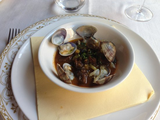Il Cuciniere : Lumache with vongole