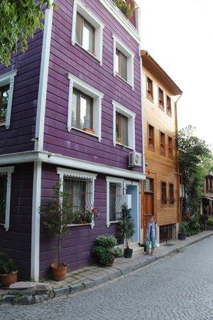 Topkapi Apartments: la façade