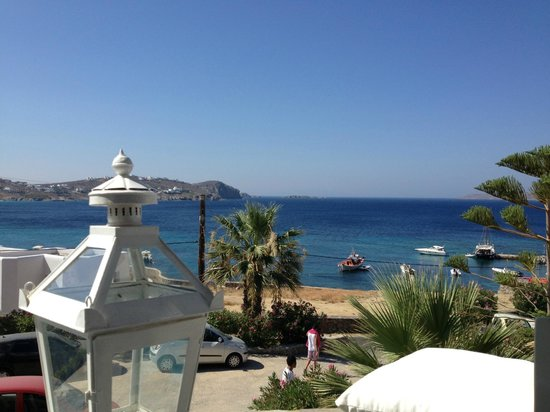 Apollonia Hotel & Resort: view from the restaurant