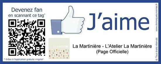 L'Atelier La Martinière sur Facebook