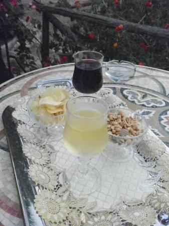 Agriturismo / B&B Reggia Saracena: Sur la terrasse