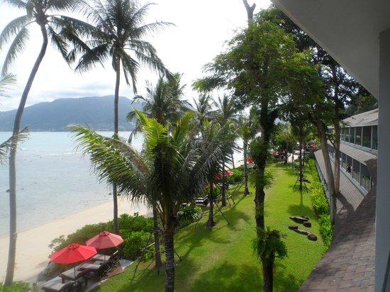 Amari Phuket: view from balcony looking towards town