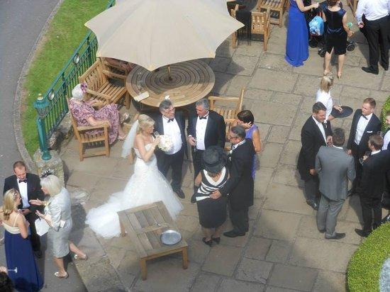Weston Hall: Drinks on the Terrace