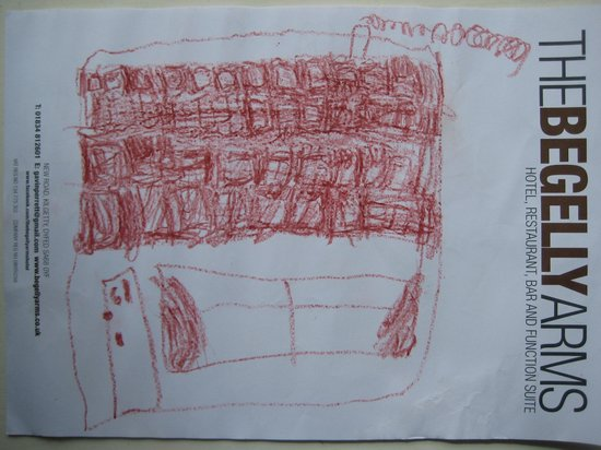 The Begelly Arms Hotel: Buckingham Place - By a young architectural artist, visiting Begelly Arm's