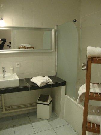 Le Chateau de Sable : Salle de bains