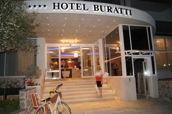 Hotel Buratti: Eingang