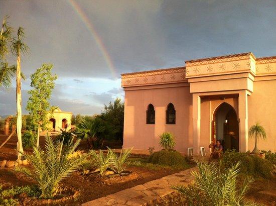 Terra Mia Marrakech : vu sur l'arc en ciel
