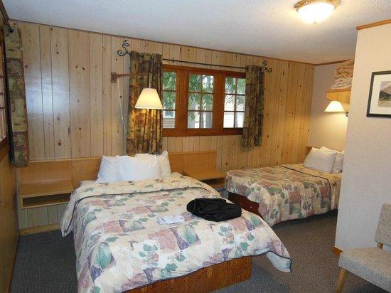 Bear Hill Lodge: Vue de la chambre