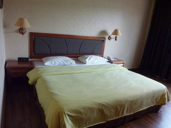 Goodway Hotel Batam: King-sized bed
