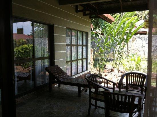 Felda Residence Hot Springs: jacuzzi