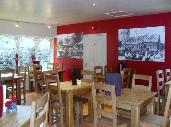 Grasmere Tea Gardens: Indoor seating