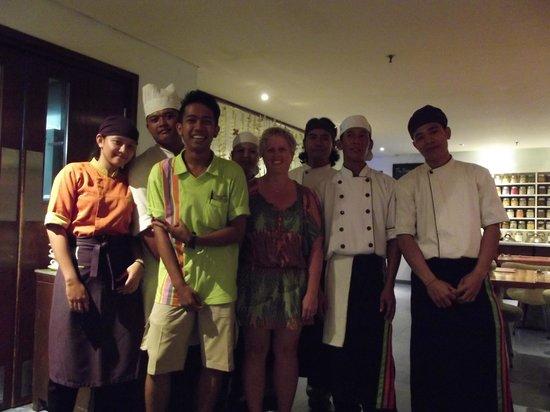 All Seasons Legian Bali: friendly staff