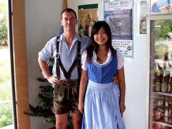 Tolzer Hutte: Axel und Beo