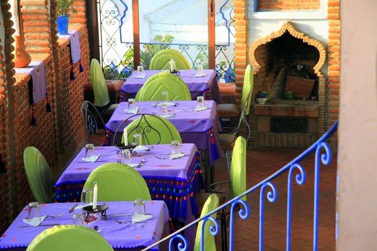 Aladdin Restaurant: Top floor at La Lampe Magique