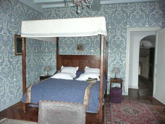 Chateau de la Flocelliere: chambre