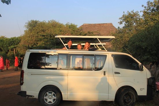 East Africa Adventure Tours and Safaris - Day Tours: Our EAATS mini bus