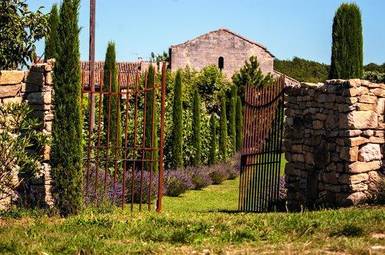 L'Abbaye: Jardin