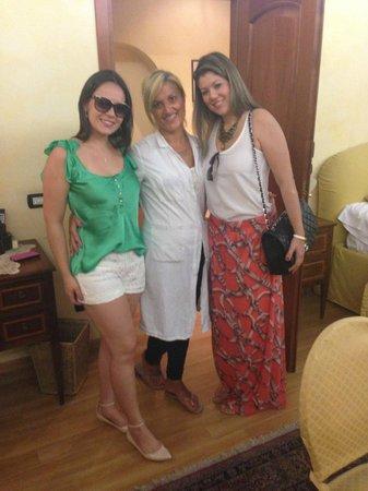 Cenci B&B : Francesca and my friends
