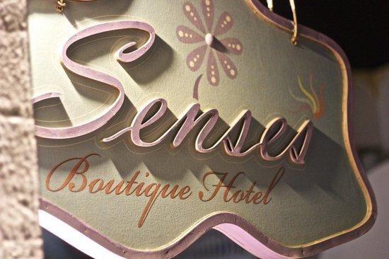 Senses Boutique Hotel : the senses sign