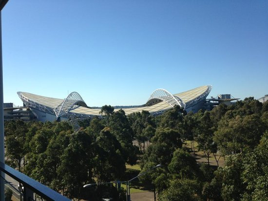 Quest at Sydney Olympic Park: the view!!