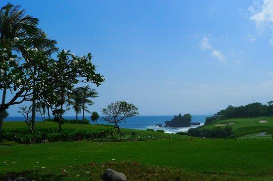 Pan Pacific Nirwana Bali Resort: View of Tanah Lot