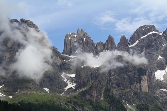 Berghotel Miramonti: Una delle escursione del Sig. Francesco Pale di San Martino