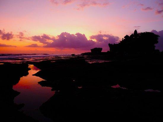 Pan Pacific Nirwana Bali Resort: Sunset