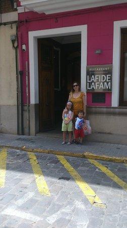 La Fi De La Fam: La fachada está chulísima