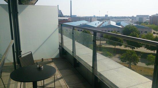 Scandic Sydhavnen: balcony