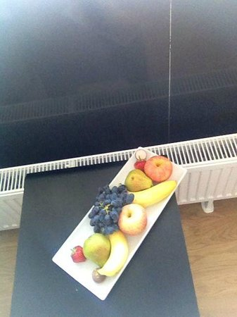 Scandic Sydhavnen: welcome fruit