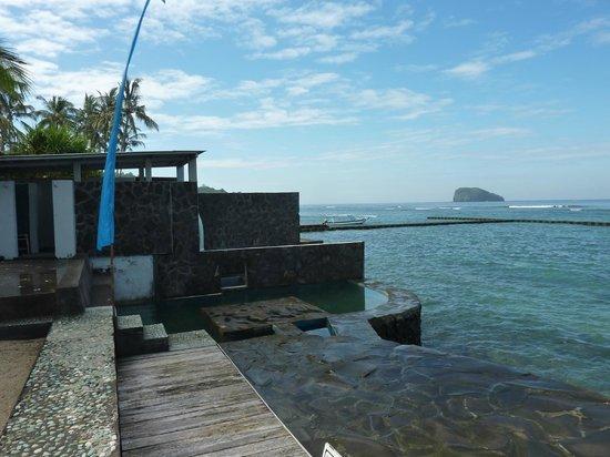 Aquaria : vue mer