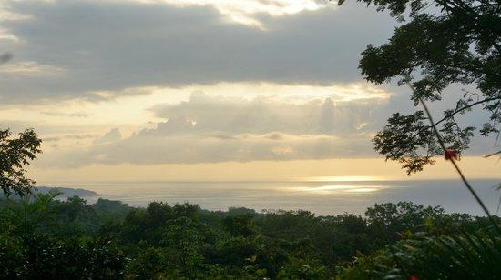 Agua Vista : Blick von der Terrasse