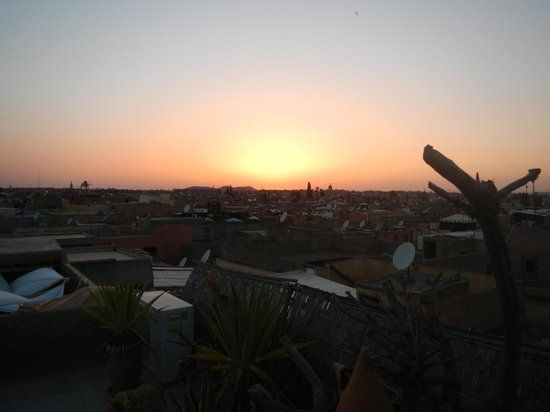 Riad Cocoon: View from roof terrace