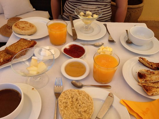 Riad Cocoon : Breakfast