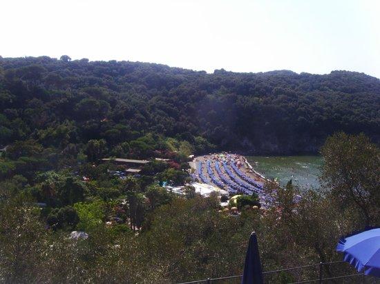 Baia di San Montano: vista dal negombo