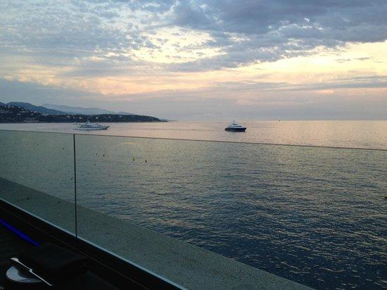 L'Argentin Monte Carlo: Vista dal tavolo