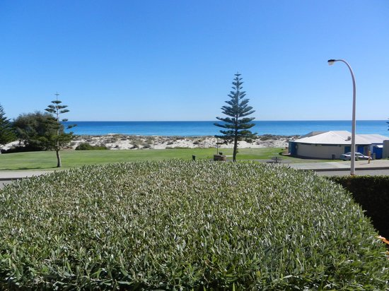 Beach Manor Bed and Breakfast Perth: view from my day bed, no charge, just plonk you bum and simply kick back!, The sea was across th