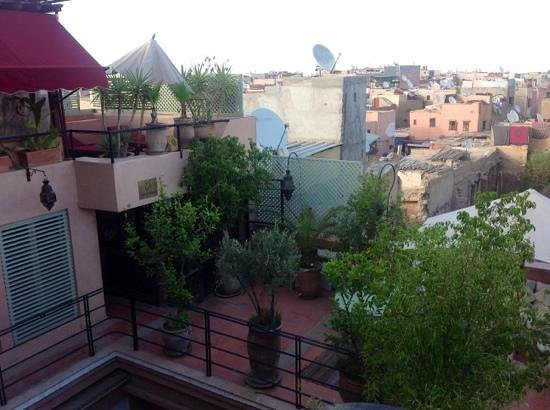Riad Moullaoud : vue chambre