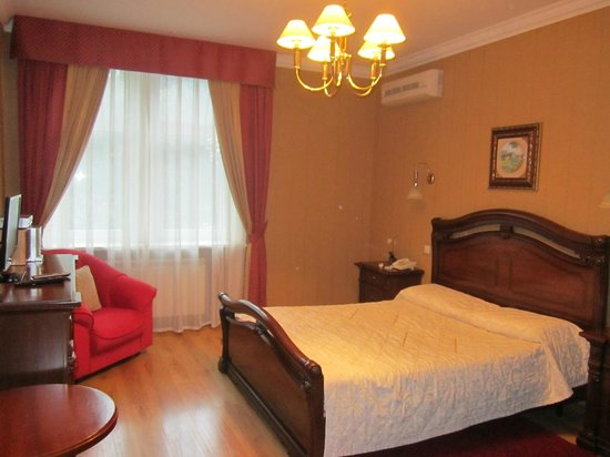 Sherborne ApartHotel: спальня