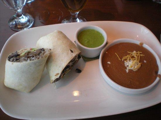 El Vez Restaurant: Vaca Frita Burrito