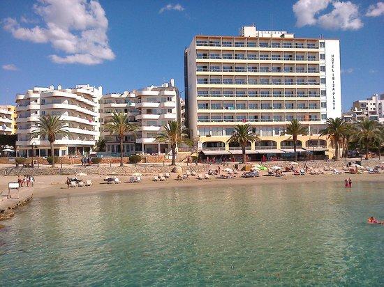 Hotel Ibiza Playa: from boat...