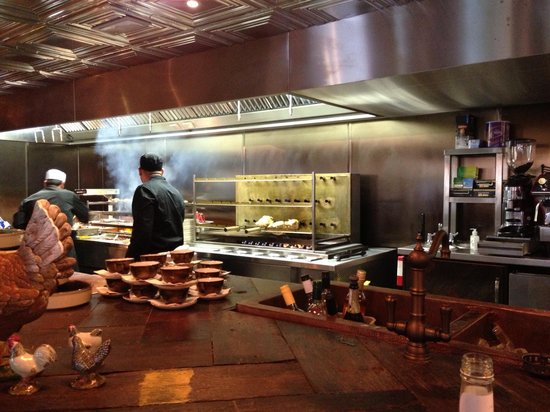 Cleaver: Kitchen open
