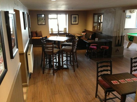 Bulkeley Arms: Updated seating area