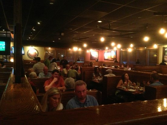 Outback Steakhouse: Inside Outback @ Rocky Mount, NC