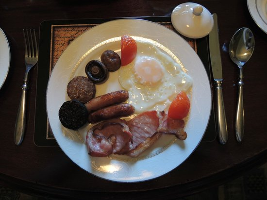 Glendine House: colazione irlandese