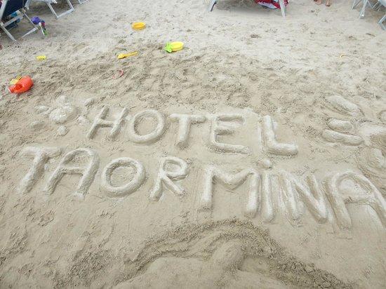 Hotel Taormina & Residence: Spiaggia