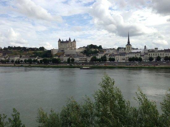 Mercure Bords de Loire Saumur : View from our balcony - amazing