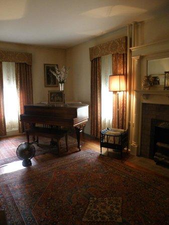 John F. Kennedy National Historic Site: Kennedy's living room
