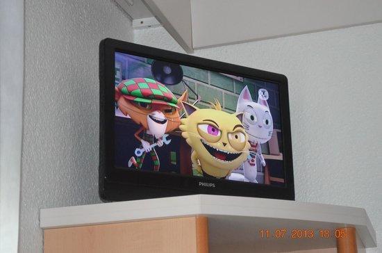 ibis Lourdes Centre Gare: TV en la habitación