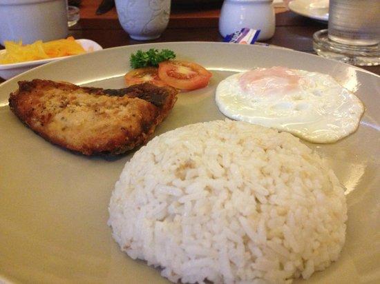 Hotel Vicente: breakfast